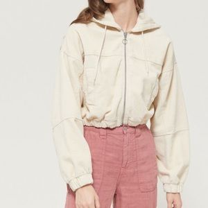 COPY - Cute corduroy jacket NEW. Hooded and cropp…